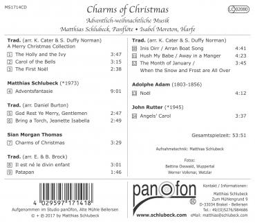 Inlaycard - Charms of Christmas - Schlubeck / Moreton